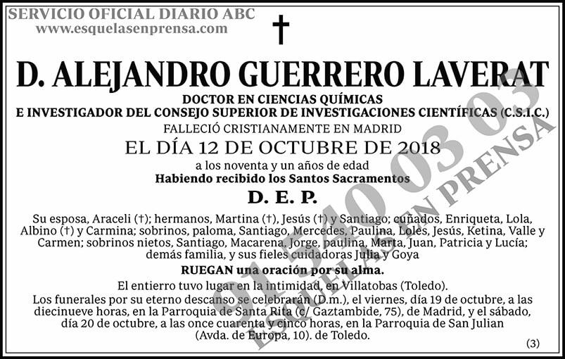Alejandro Guerrero Laverat